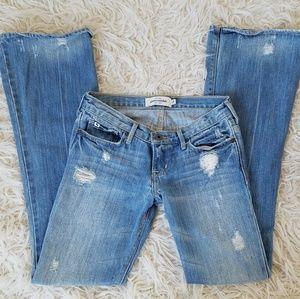 Abercrombie 🦌 Mackenzie Skinny Flare Jeans